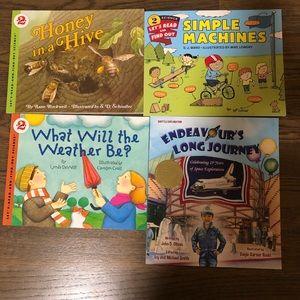 Kid science books.  Bundle of 4.